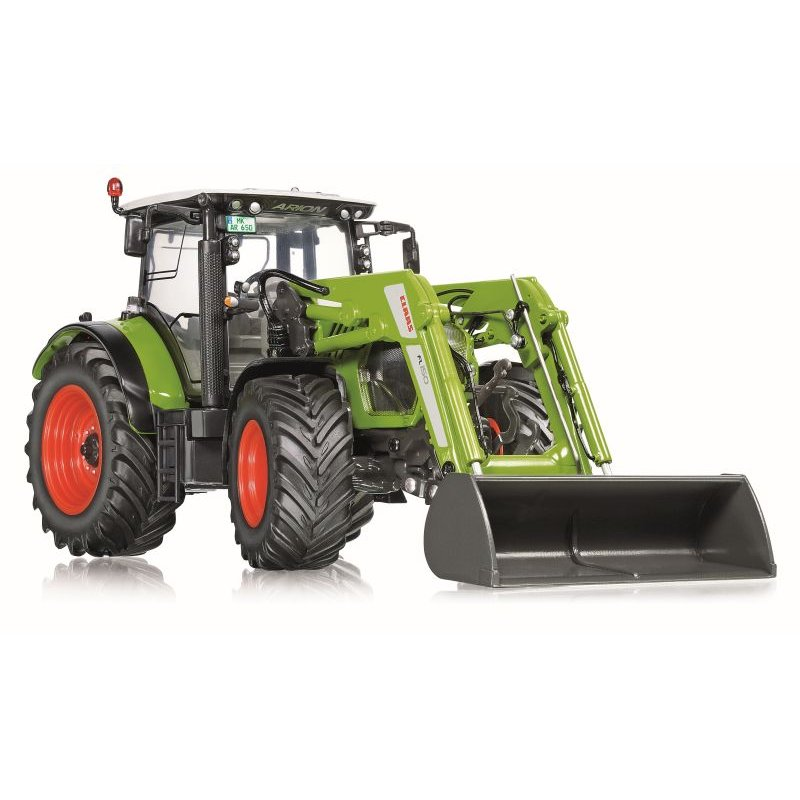 wiking claas arion 650 mit frontlader 1 32 55 00. Black Bedroom Furniture Sets. Home Design Ideas