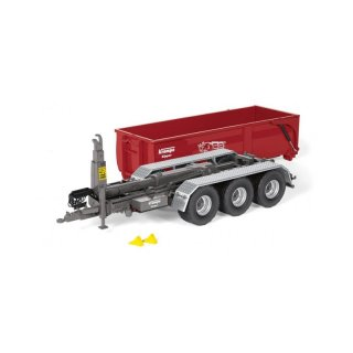 Wking Krampe Hakenlift THL 30 L Abrollcontainer Big Body 750 1:32